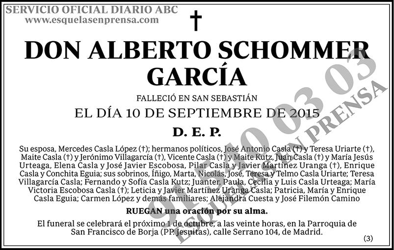 Alberto Schommer García